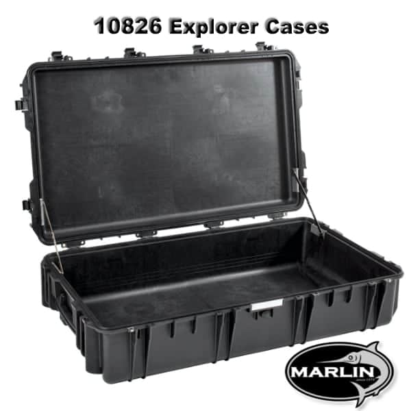 10826 Explorer Cases schwarz leer