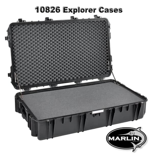 10826 Explorer Cases schwarz schaumstoff