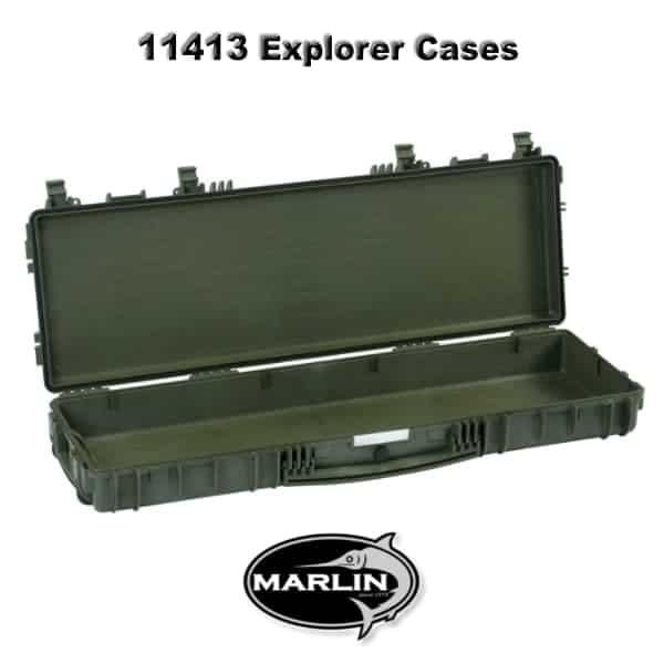 11413 Explorer Cases grün leer