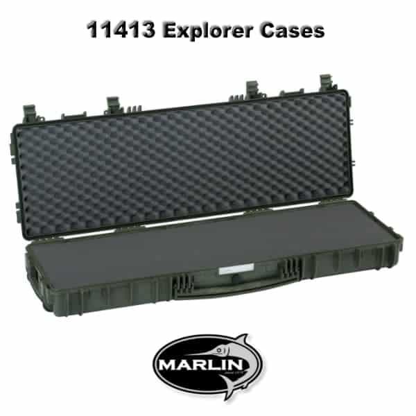11413 Explorer Cases grün schaumstoff