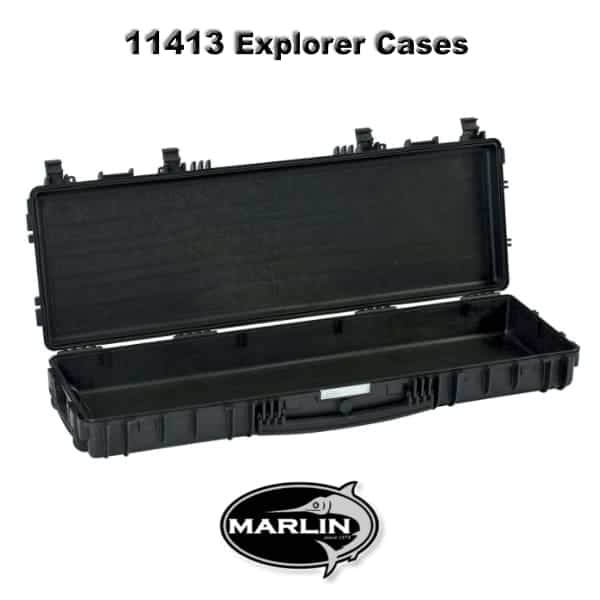 11413 Explorer Cases schwarz leer