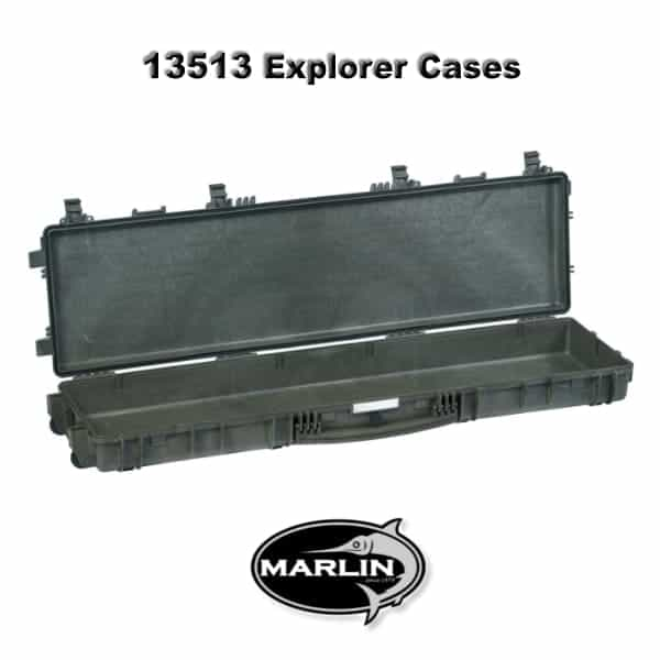 13513 Explorer Cases grün leer