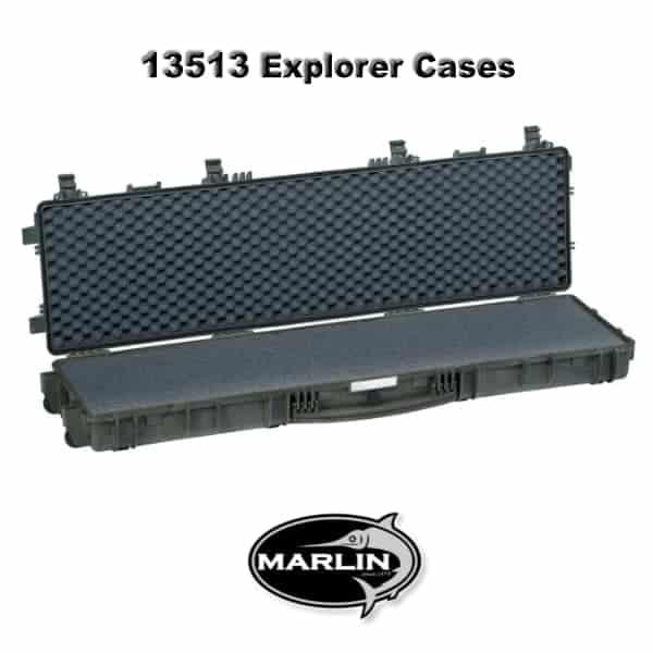 13513 Explorer Cases grün schaumstoff