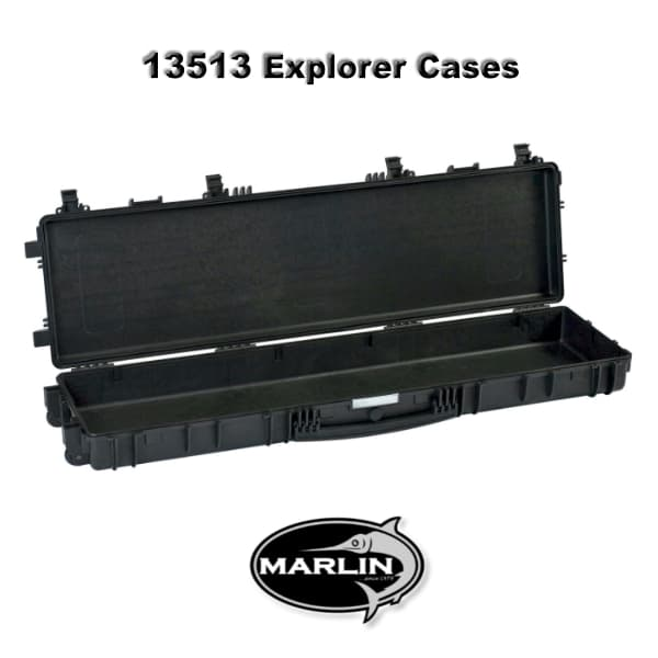 13513 Explorer Cases schwarz leer