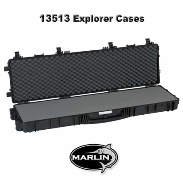 13513 Explorer Cases schwarz schaumstoff