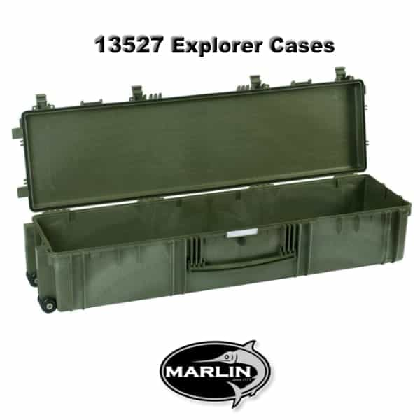13527 Explorer Cases green empty