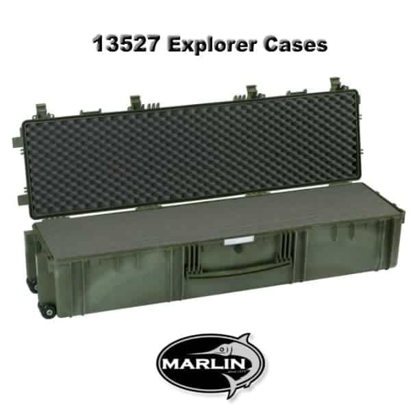 13527 Explorer Cases green foam