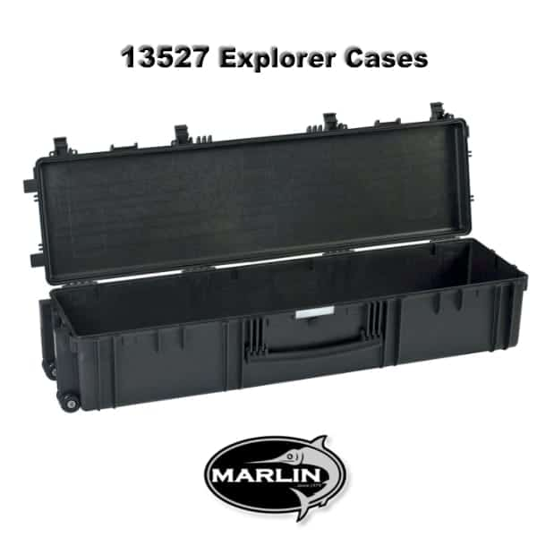 13527 Explorer Cases schwarz leer