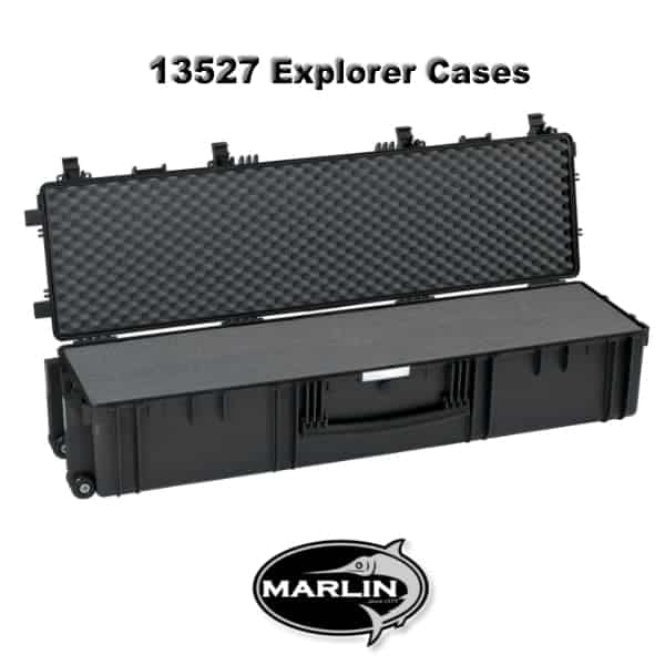 13527 Explorer Cases black foam