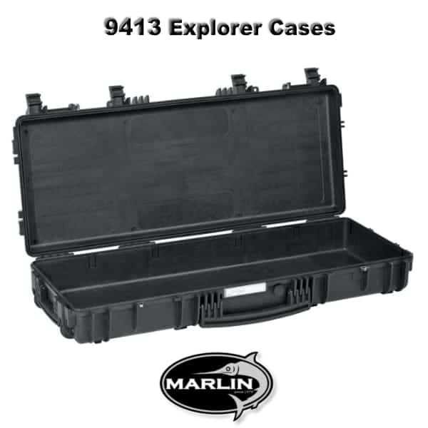 9413 Explorer Cases schwarz leer