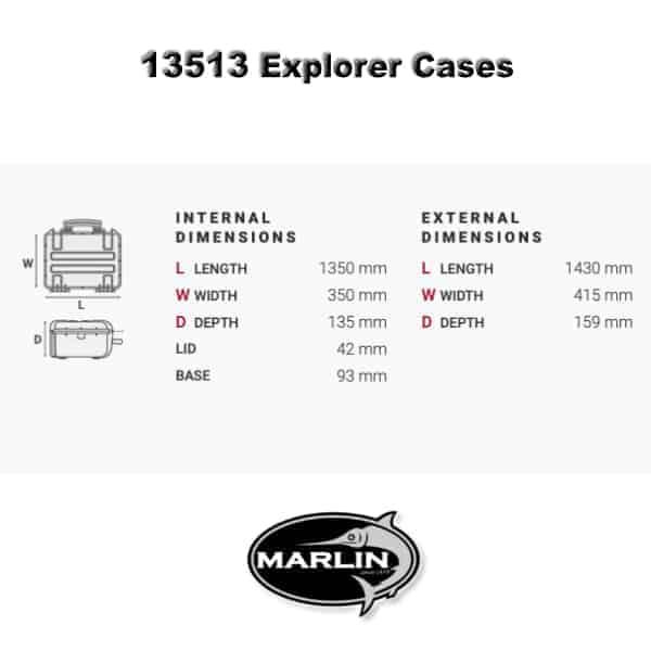 Explorer 13513 Dimensionen