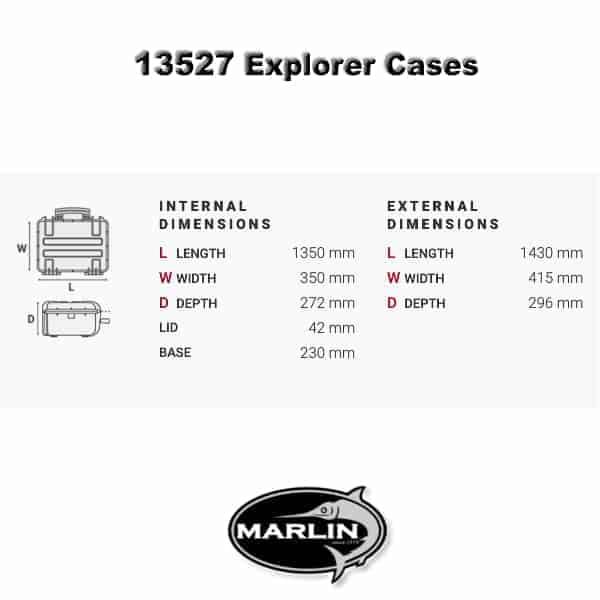 Explorer 13527 Dimensionen