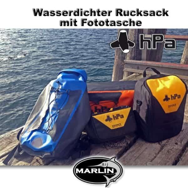 Wasserdichter Rucksack mit Fototasche