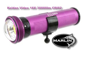 Keldan 30000lm CRI82, video light
