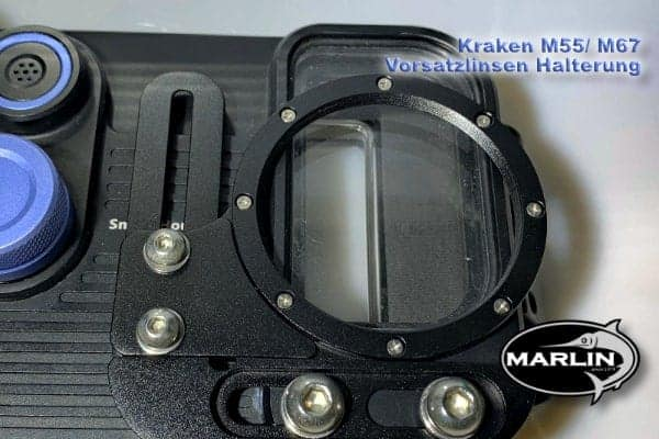 Attachment lenses bracket octopus