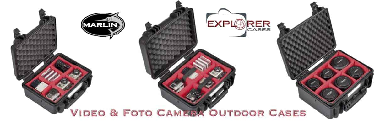 Video Foto Camera Outdoor Cases