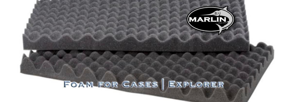 kategorie Foam, explorer cases