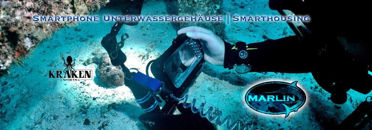 smarthousing kraken, Unterwasser Smartphone Gehäuse