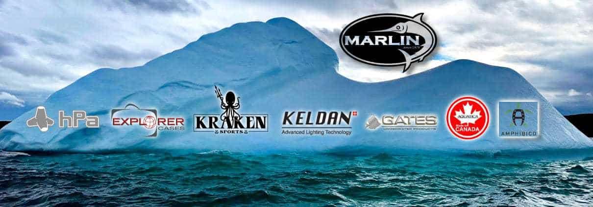 Marlin unterwasser fotografie shop, Tauchen, Transportkoffer, Rucksäcke