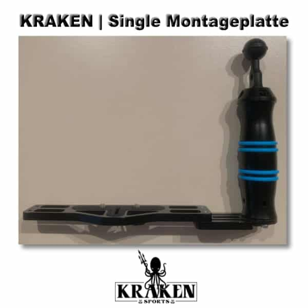 KRAKEN Single Montageplatte