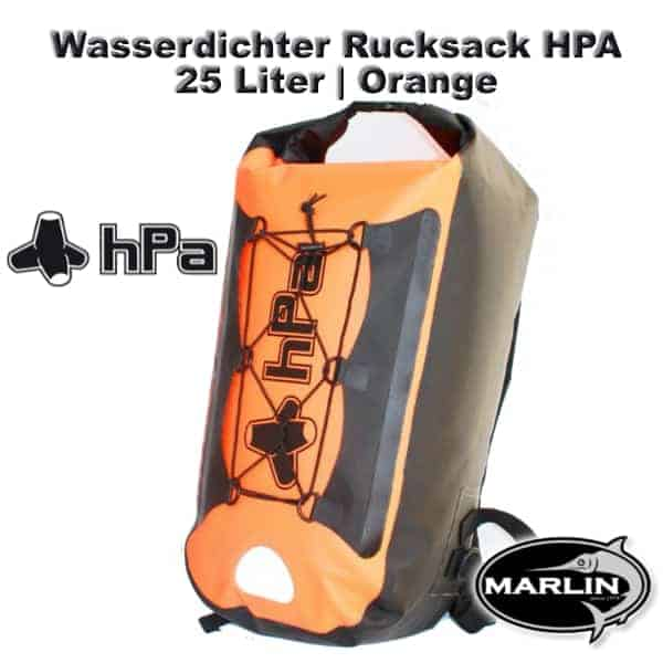 Waterproof Backpack HPA 25 litre Orange