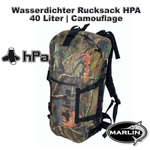 Waterproof Backpack HPA 40 litre Camouflage