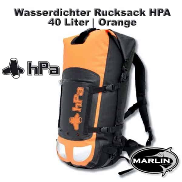 Waterproof Backpack HPA 40 litre Orange